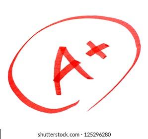 a+ mark