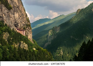 """""""A Sumela Monastery"""" on top of the mountains in Trabzon - Turkey"""