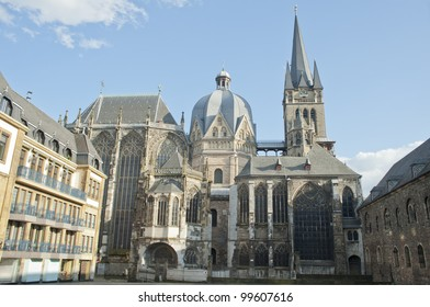Aachen cathedral is the oldest Roman Catholic church in northern Europe ,europe.