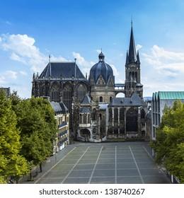 Aachen Dom Cathedral (in German: Kaiserdom)