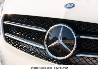 8e50339894 AACHEN GERMANY FEBRUARY 2017 Mercedes Benz Stock Photo (Edit Now ...
