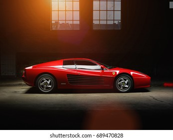 Red Ferrari Images, Stock Photos & Vectors | Shutterstock