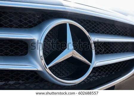 9d27e97d67 AACHEN GERMANY MARCH 2017 Mercedes Benz Stock Photo (Edit Now ...