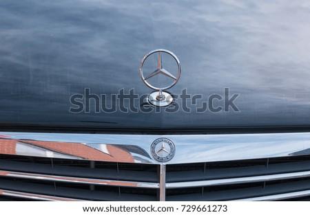 aa179eef0c AACHEN GERMANY OCTOBER 2017 Mercedes Benz Stock Photo (Edit Now ...