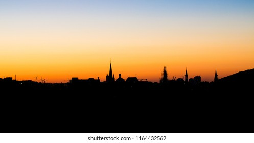 Aachen Skyline Germany