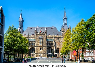 Aachen, Town Hall, Germany