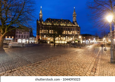 Aachen Town Hall. Aachen, North Rhine-Westphalia, Germany.
