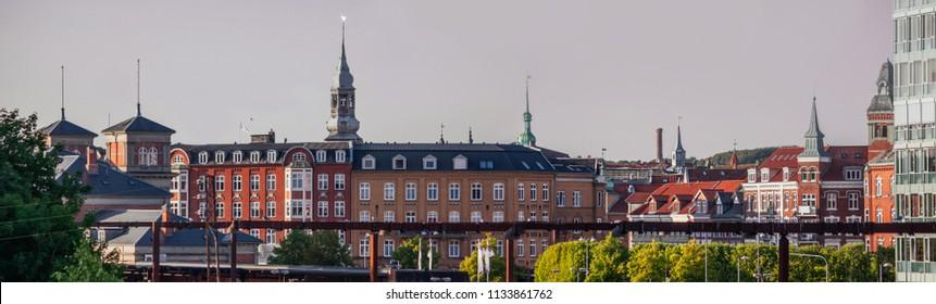 Aalborg cityscape, Denmark