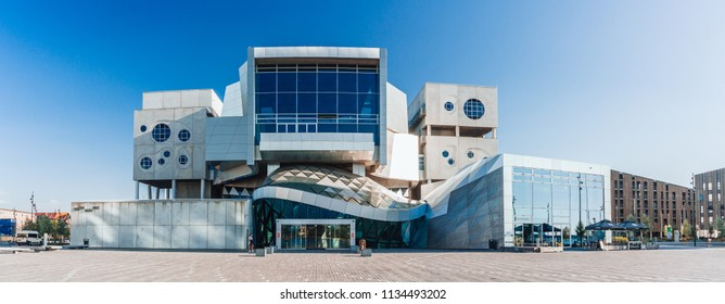 Aalborg / Denmark - July 2018: The house of music