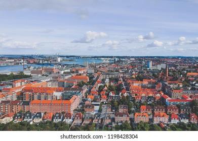 Aalborg panoramic view