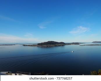 Aalesund coast line
