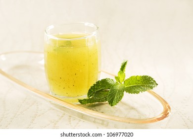Aam Panna or Salted Green Mano Juice, Indian Drink