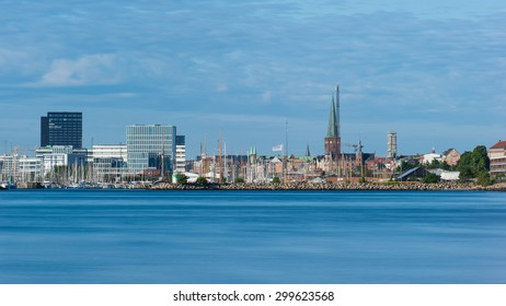 AARHUS, DENMARK � JULY 16,2015: Panoramic view on the city of Aarhus. Aarhus will be the European capital of culture in 2017. July 16, 2015 in Aarhus, Denmark