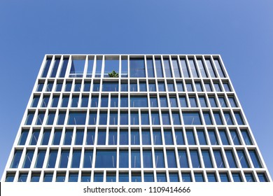 Aarhus, Denmark - June 8, 2018: Bestseller building in Aarhus. Bestseller is a privately held family-owned clothing company based in Denmark. The company was founded in 1975 and has 11 brands