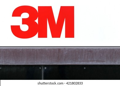 Aarhus, Denmark - May 16, 2016: 3M is an American multinational conglomerate corporation based in Maplewood, Minnesota. 3M produces adhesives, abrasives, laminates and passive fire protection.