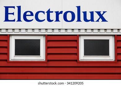 Aarhus, Denmark - November 7, 2015: Electrolux is a multinational appliance manufacturer, headquartered in Stockholm, Sweden