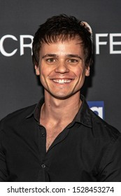 """Aaron Dalla Villa attends 19th Annual Horror Film Festival – ScreamFest - Opening Night """"Eat, Brains, Love"""" Los Angeles Premiere at TLC Chinese Theatre, Hollywood, CA on October 8, 2019"""