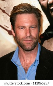 Aaron Eckhart At The Los Angeles Premiere Of 300 Graumans Chinese Theatre