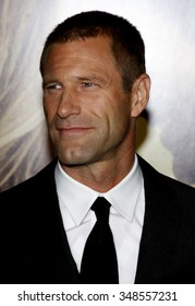 """Aaron Eckhart at the World Premiere of """"Love Happens"""" held at the Mann Village Theater in Westwood, California, United States on September 15, 2009."""