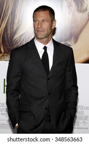 "Aaron Eckhart at the World Premiere of ""Love Happens"" held at the Mann Village Theater in Westwood, California, United States on September 15, 2009."