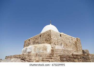 Aaron Tomb in Petra, Jordan