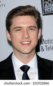 "Aaron Tveit at the 5th Annual ""A Fine Romance"" Benefit Gala, 20th Century Fox Studios, Los Angeles, CA. 05-01-10"