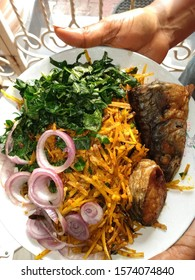 Abacha, a local delicacy among the Igbo tribe of Nigeria, Africa.