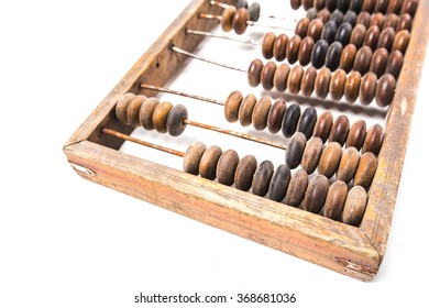 Abacus isolated on white