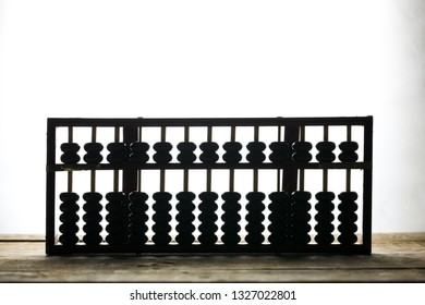 An abacus on the table