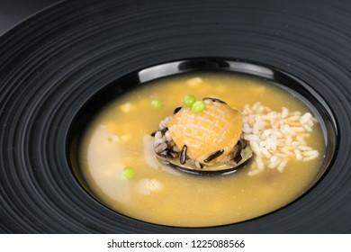 Abalone sauce, sea cucumber