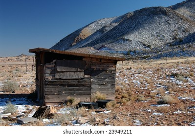 abandon homestead, Arizona, USA