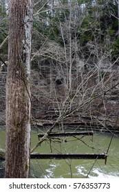 Abandon Walking Bridge