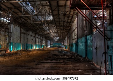 Abandoned Agricultural machinery plant named after Stalin in Voronezh