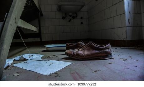 Abandoned asylum in Italy.