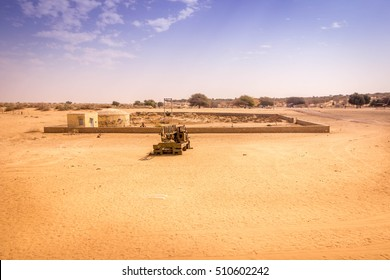 Abandoned battle ground of India and Pakistan, Longewala War 1972