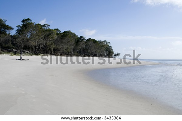 Abandoned beach on Fraser Island/Queensland/Australia