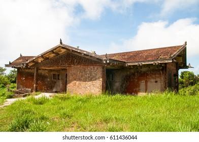 "Abandoned ""Black Palace"" by King Sihanouk Bokor National Park , Kampot Province, Cambodia"