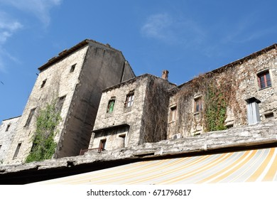 Abandoned buildings in Mostar, Bosnia and Herzegovina