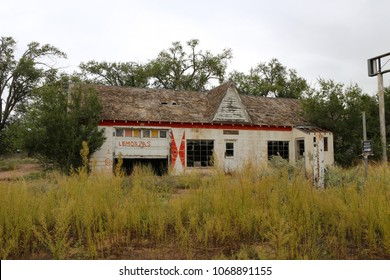 Abandoned buildings in USA on Route 66