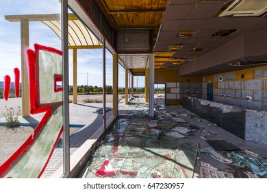 Abandoned Business and Vandalism