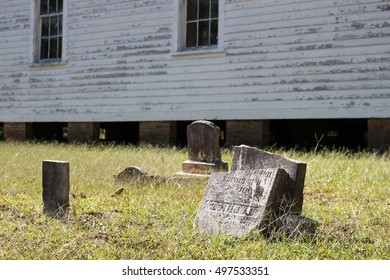 Abandoned Church Cemetery