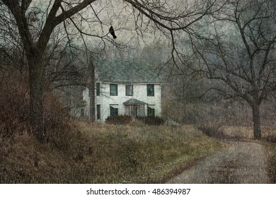 Abandoned Country House