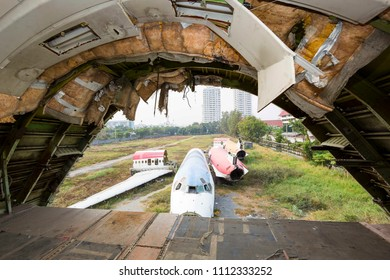 Abandoned Derelict Disused Airplanes