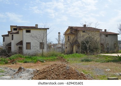 Abandoned and dilapidated houses in Turkey