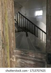 Abandoned Ellis Island Hospital, New York City