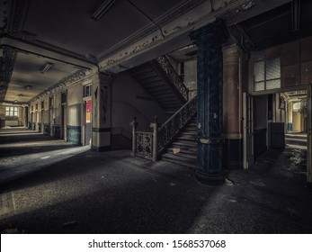 an abandoned facility of the university