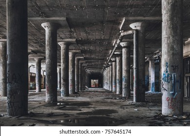 Abandoned Factory Hall
