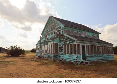 Abandoned farm-house in Kansas, USA.