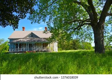 Abandoned Farmhouse in Rural South Carolina
