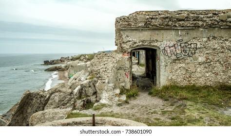 Abandoned fort near Liepaja